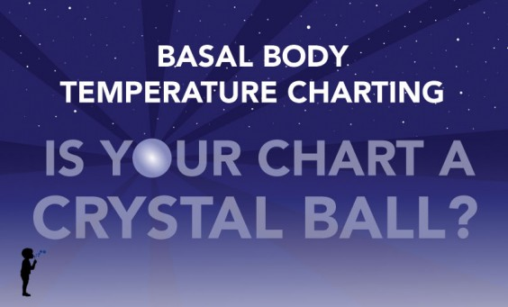 Basal body temperature charting is your chart a crystal ball