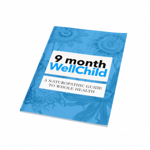 9 month well child guide #naturopathic #pediatrics